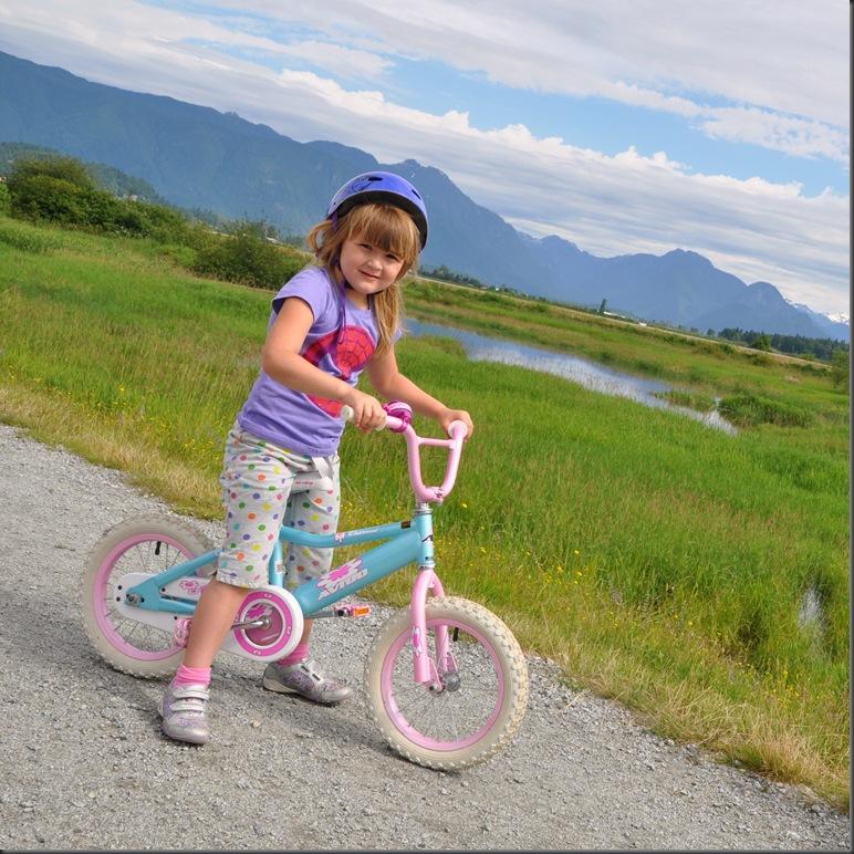Emma can ride a bike