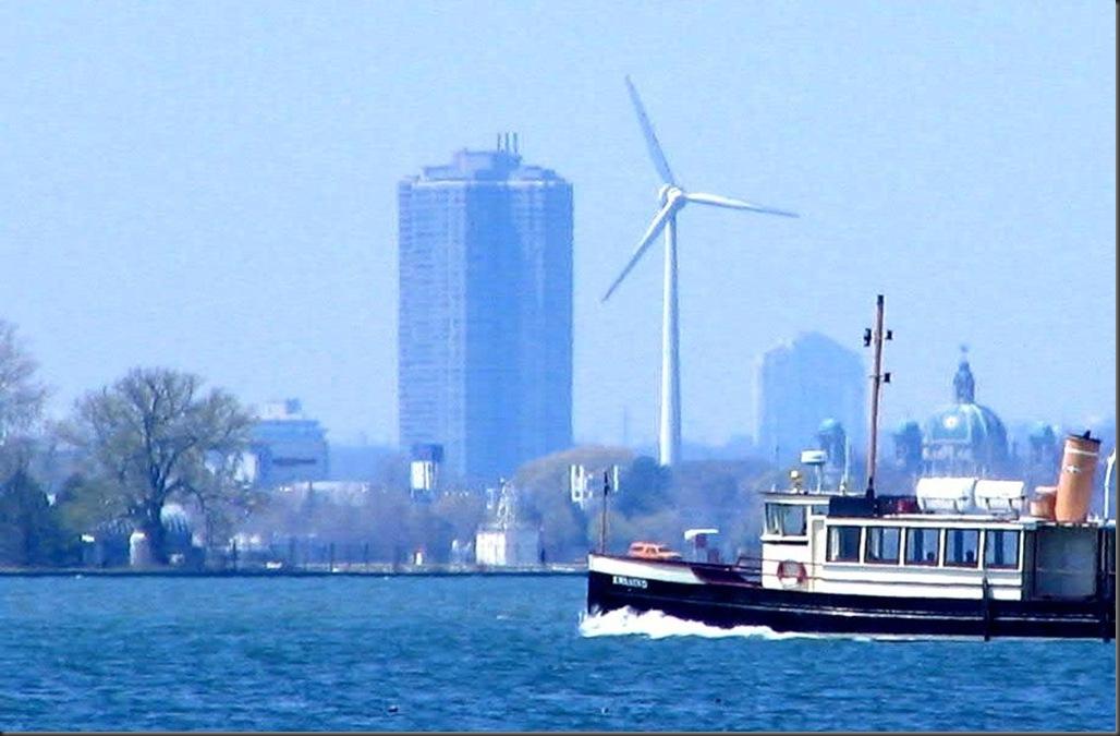 Toronto Wind Turbine