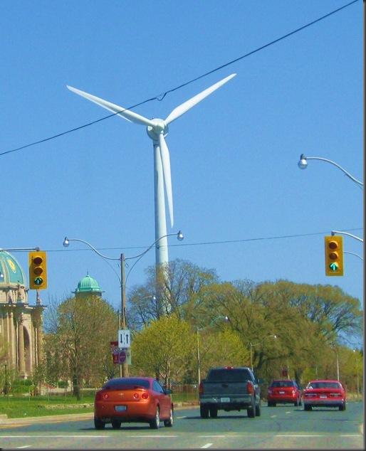 Toronto 'windshare' turbine