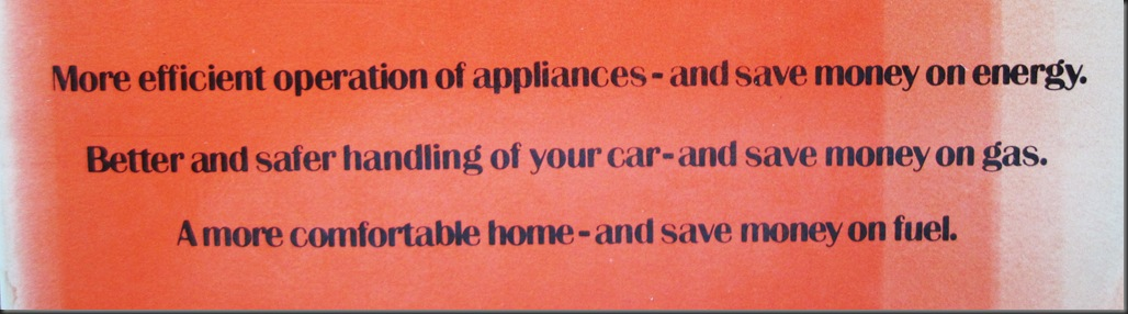 Energy savings banner