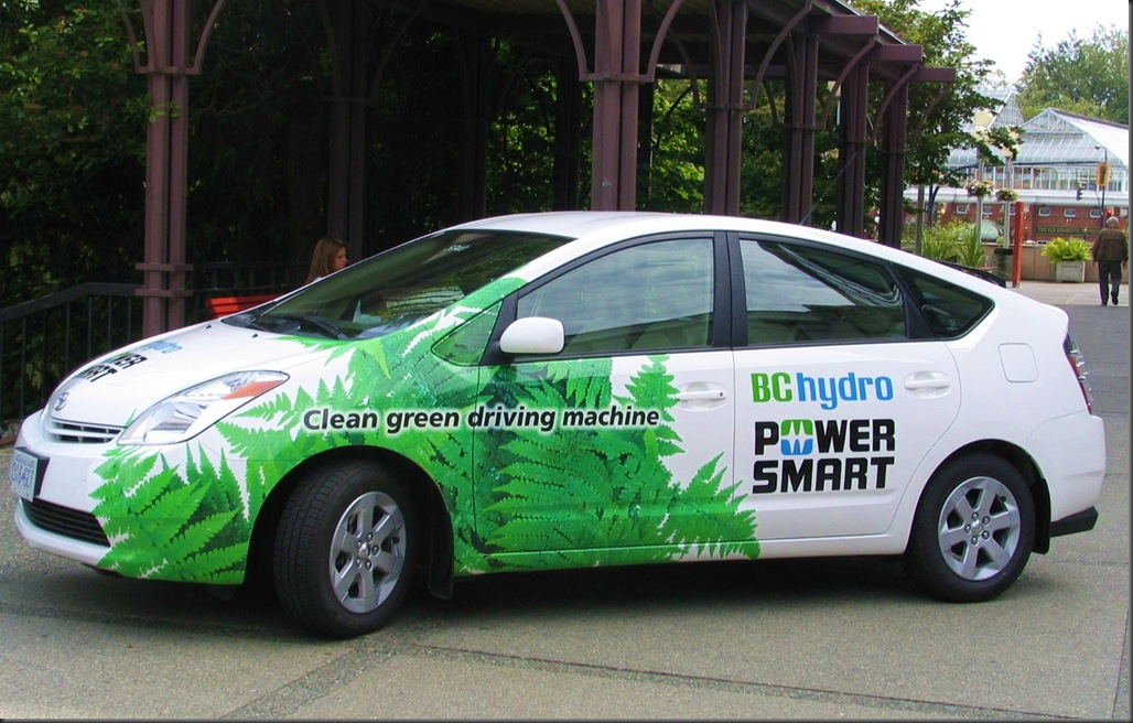Power Smart BC Hydro car 2