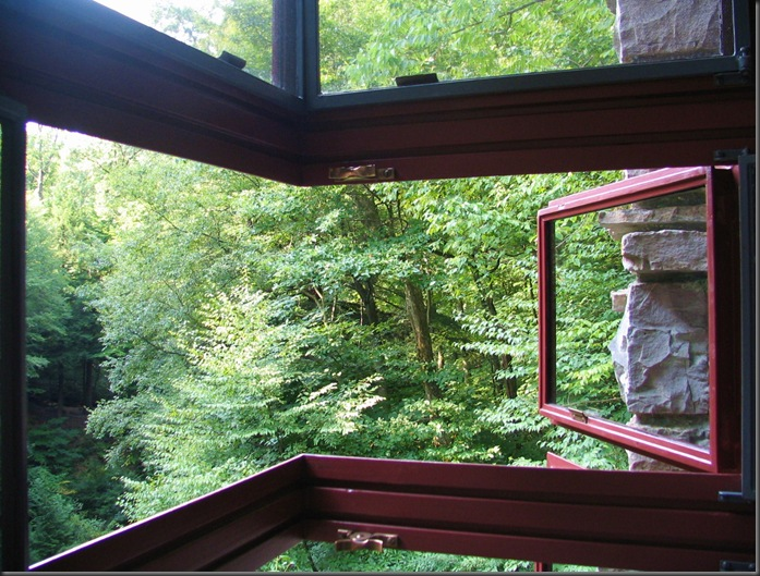 Fallingwater window detail