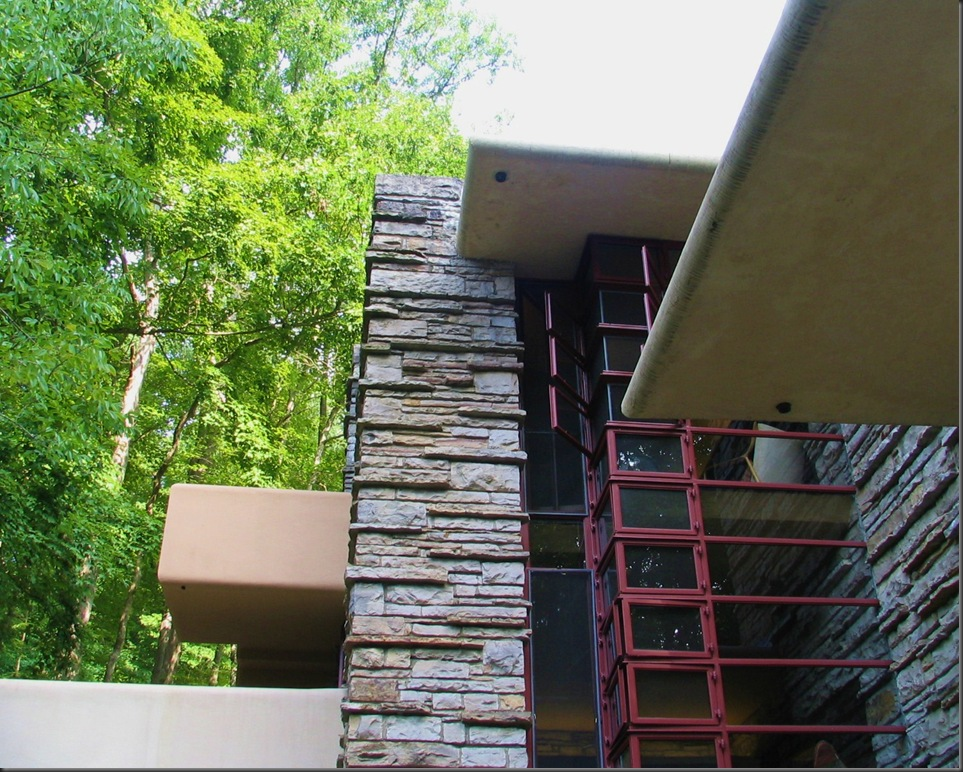 Fallingwater windows