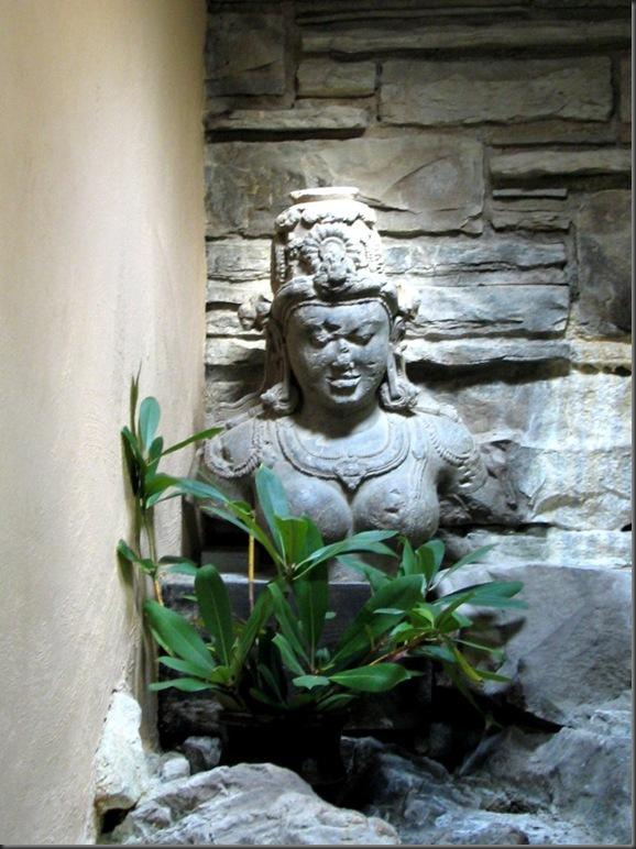 Statue at fallingwater
