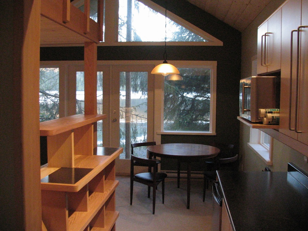 inside small is beautiful the guest cabin part two. Black Bedroom Furniture Sets. Home Design Ideas