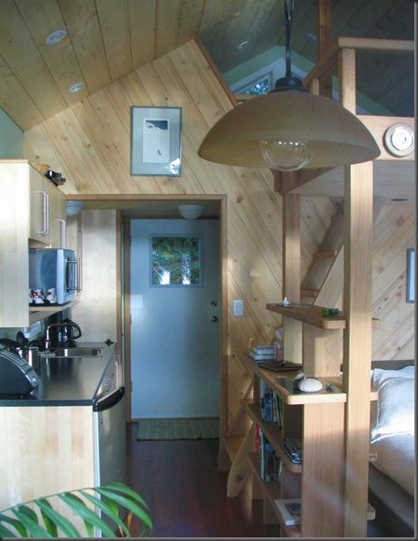 Guest cabin kitchenette & loft access !!