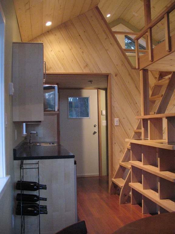 Inside Small Is Beautiful The Guest Cabin Part Two