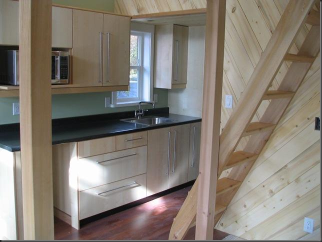 Kitchenette & loft access