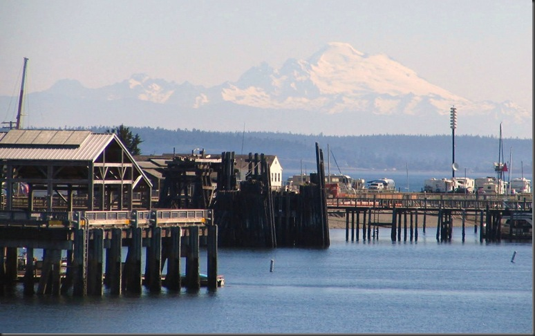 Mt. Baker from Whidbey Island, Washingtom