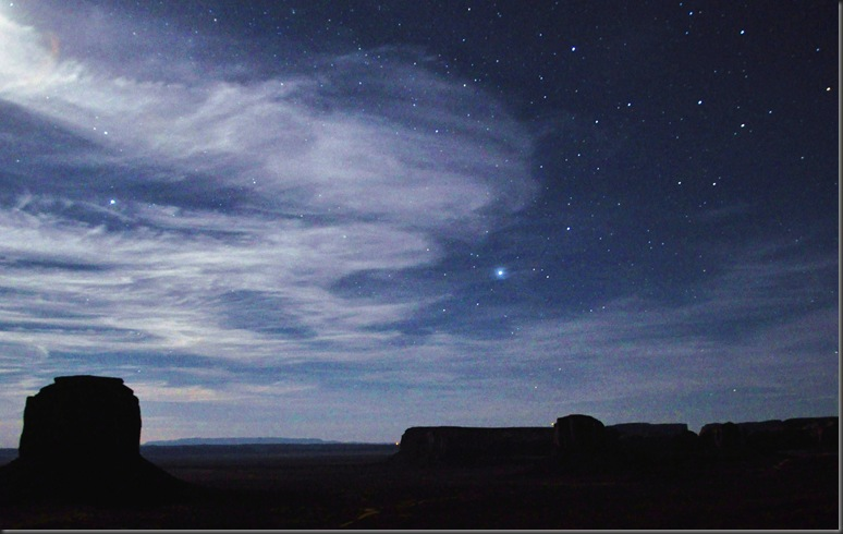 Monument Valley Starry Night