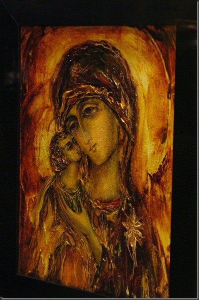 Painting of Mary, Mother of God, Montreal Canada