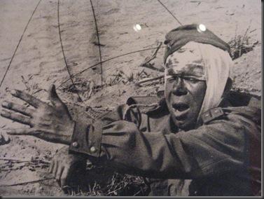 Photo of a photo, Glenbow Museum, Calgary Alberta