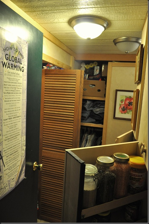 13 watt CFL lighting in pantry