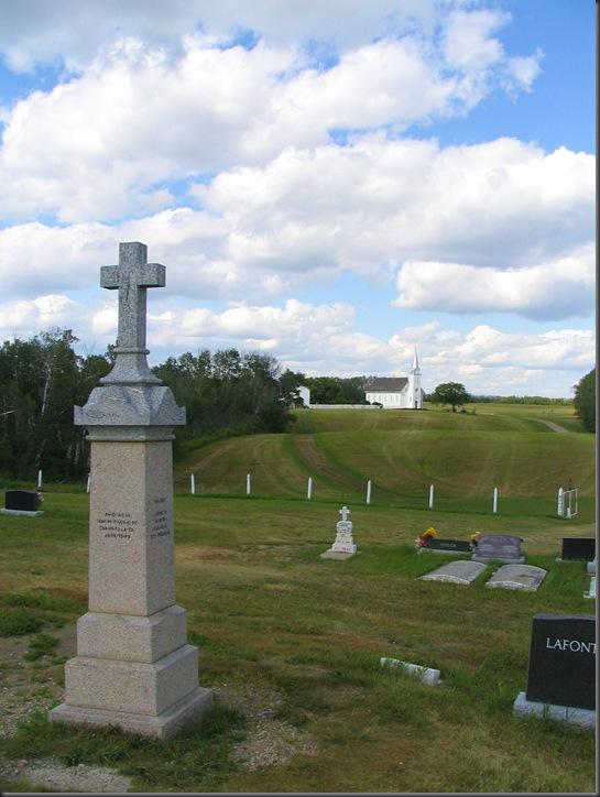 Batoche, Sakatchewan - Loius Riel Memorial