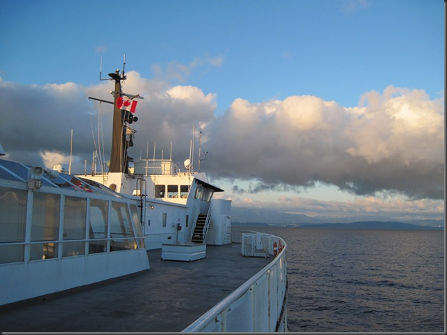 British Columbia Ferry vessal heading to Vancouver Island