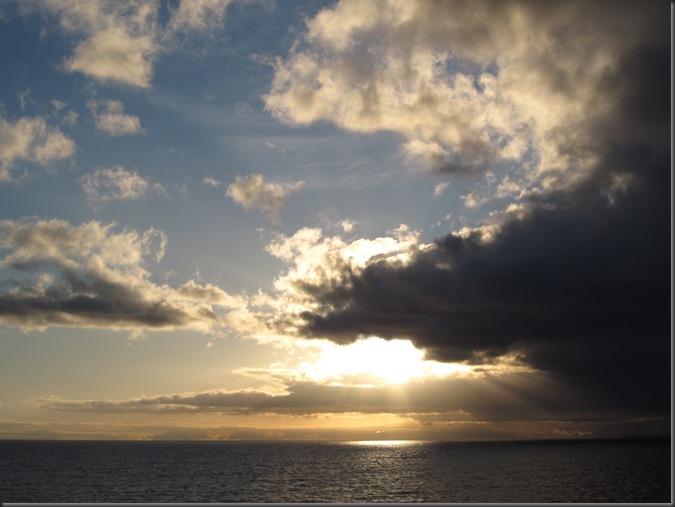 Dawn on Georgia Strait