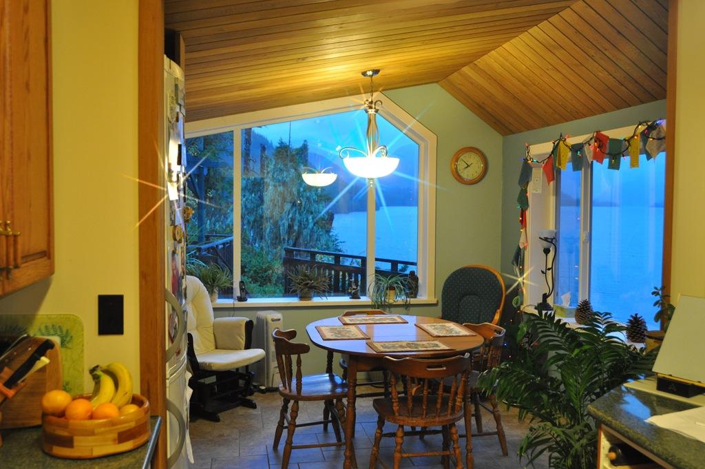 Dining Room Lights And Windows