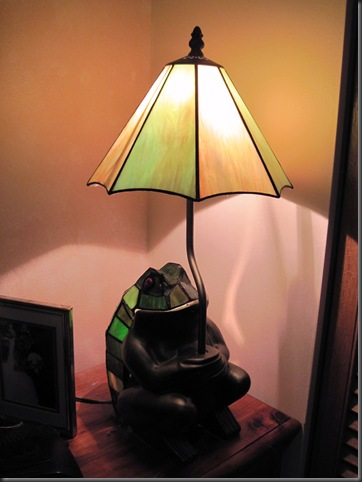 Energy hog frog lamp - 40 watt incandescent