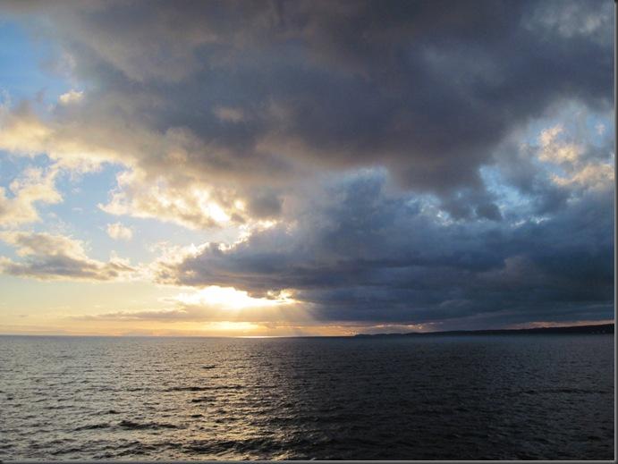 Georgia Strait and coast of Vancouver Island
