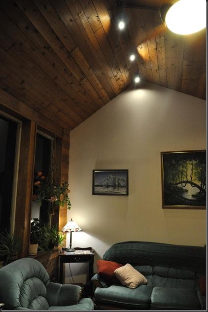 Livng room lighting