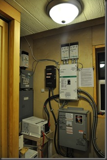 Off-grid electric system control center