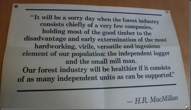 1955 quote by H.R. MacMillan