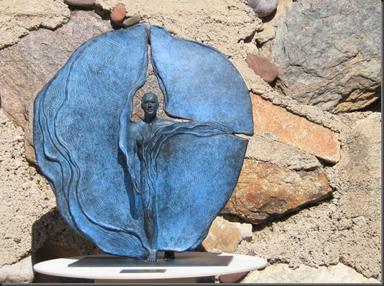 A Statue at Taliesin West