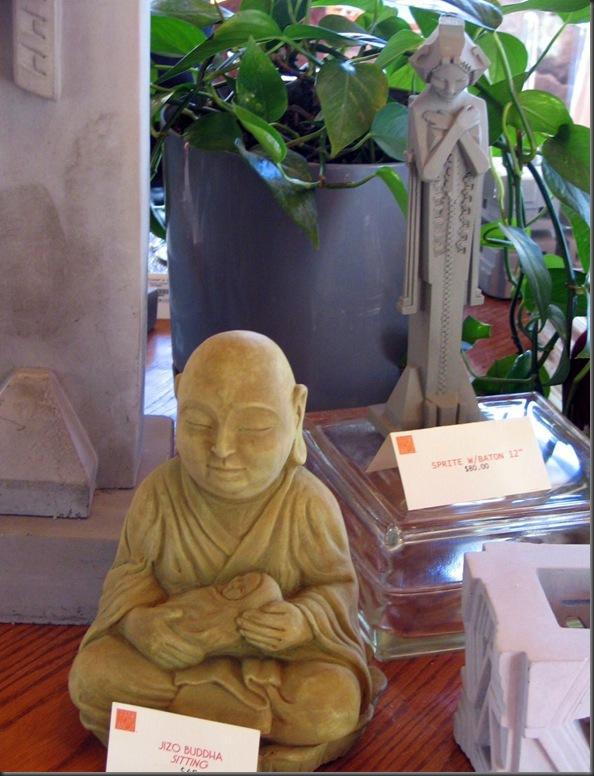 Buddha holding Jesus - by Bruce Witzel