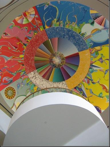 Grand Hall Staircase and Mandala Mural