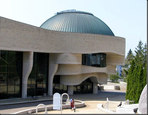 Main Entry to the Canadian Museum of Civilization - 2009