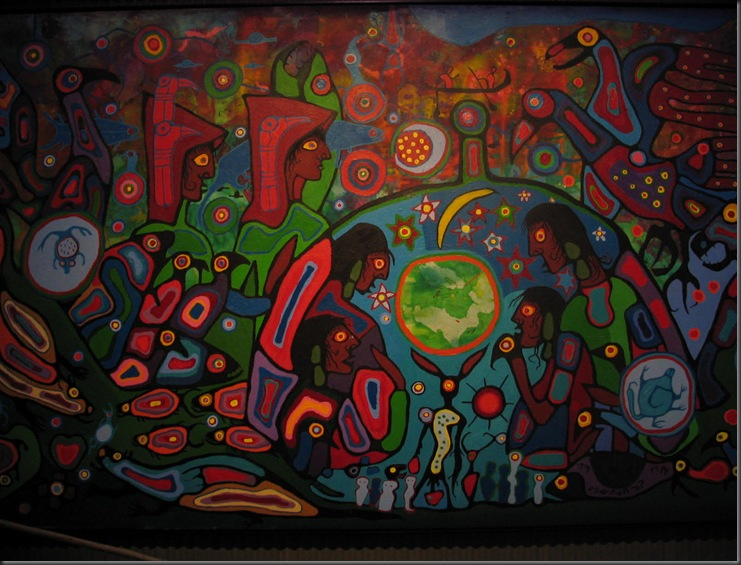 Original First Nations Artwork at the Museum of Civilization 2009