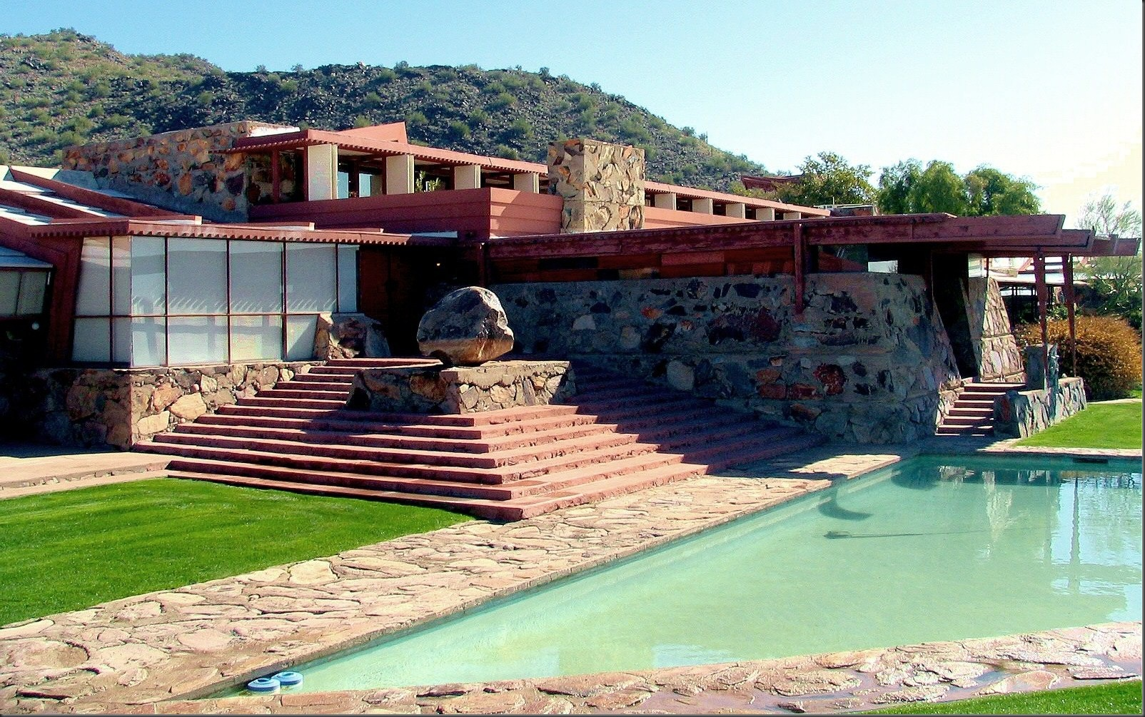 Taliesin West - a deeper fresher pool