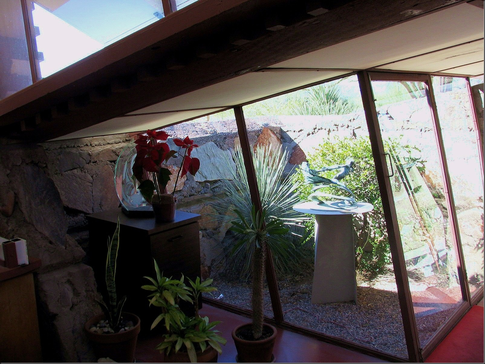 Taliesin West - Sunspace