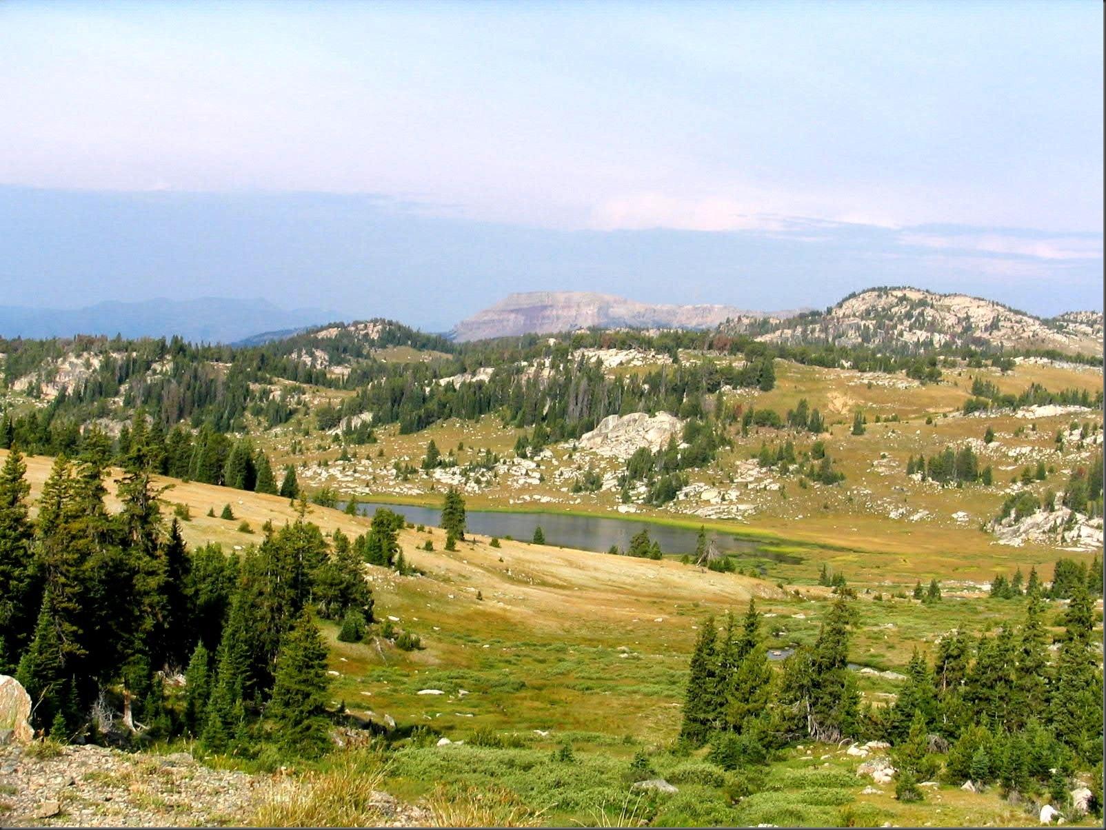 Beartooth Mountain range - by Bruce Witzel