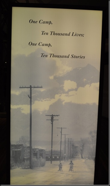 Ten thousand stories at Manzanar