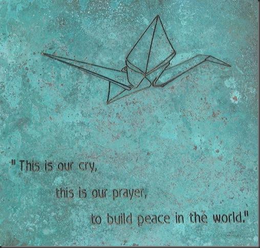 Peace Crane Project, Lindale park Gardens, Minneapolis MN