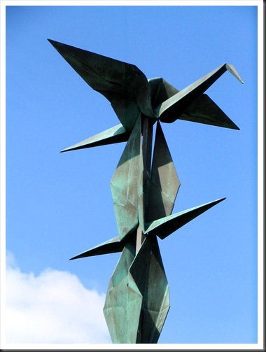 Spirit of Peace - Sculpted by Caprice Glaser, photo by Bruce Witzel