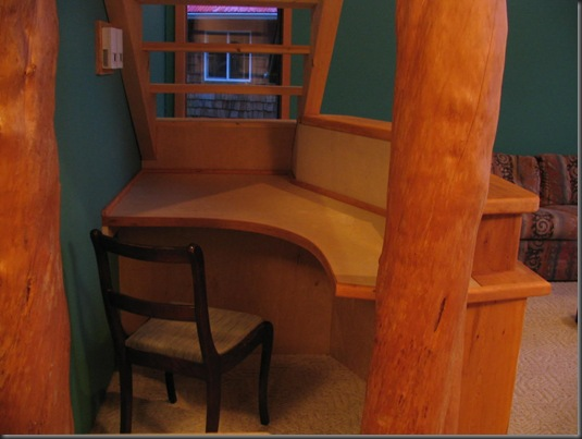 Built in desk  @ Winter Harbour - Bruce Witzel photo