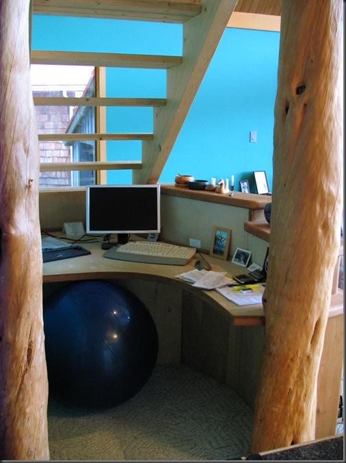 Finished desk detail