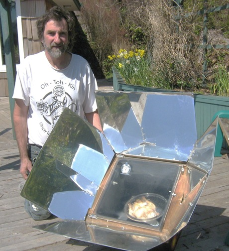 Solar cooked Chicken - Francis Gunette