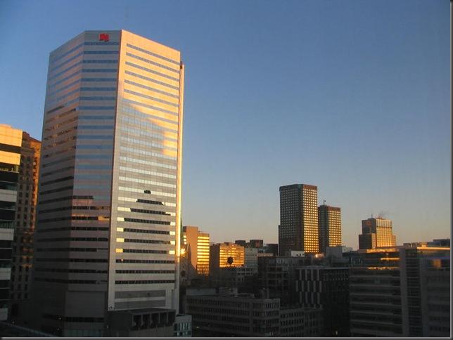 Montreal at sunrise - Bruce Witzel photo