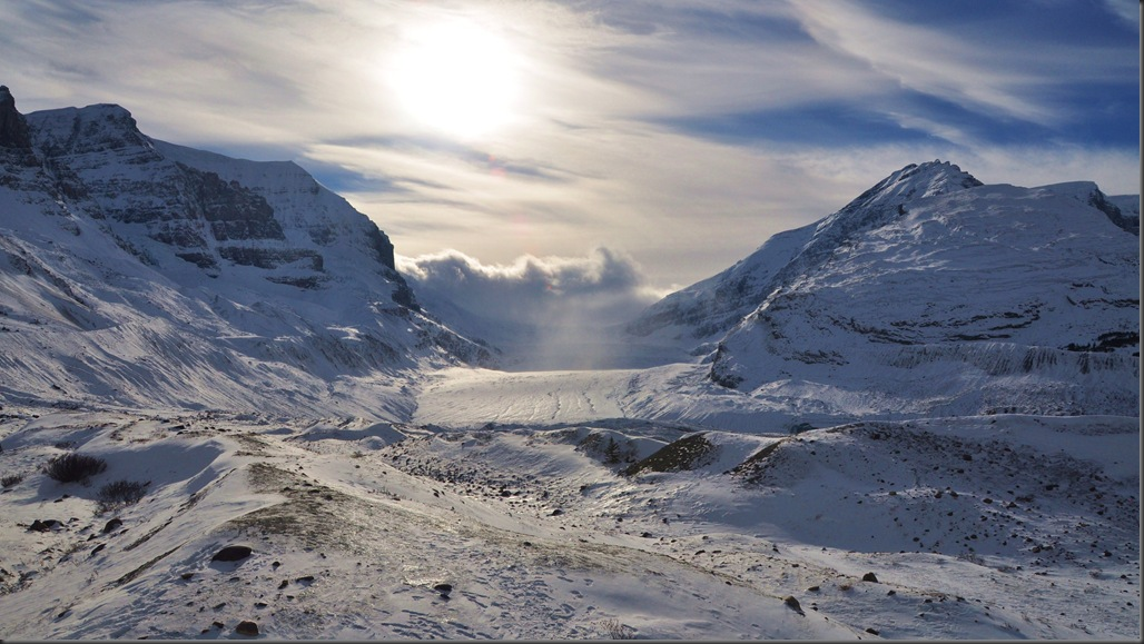 Athabasca Glacier of the Columbia Icefields