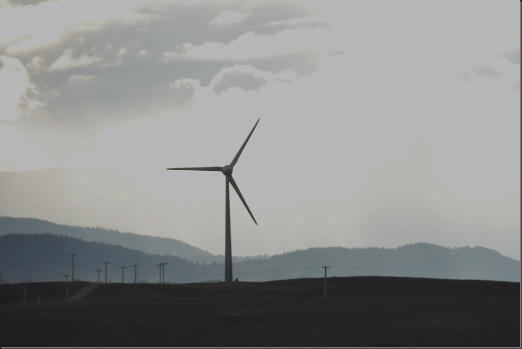Cowley Ridge Wind Turbine
