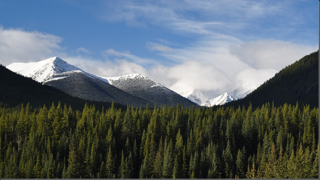 Kananaskis off Alberta Highway 40