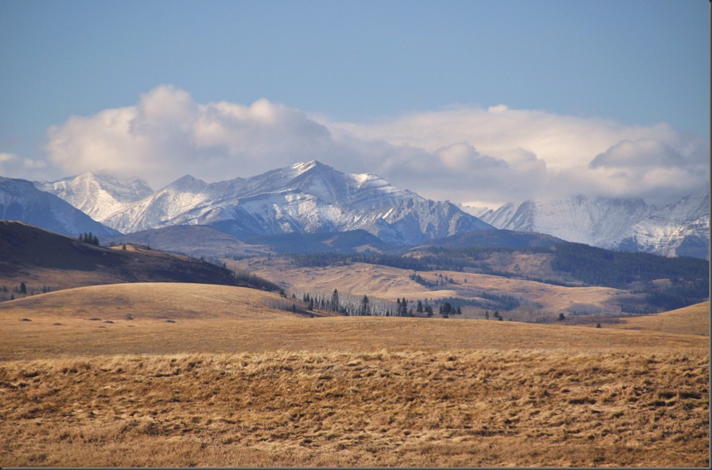 View west from Alberta Highway 22  - Bruce Witzel photo