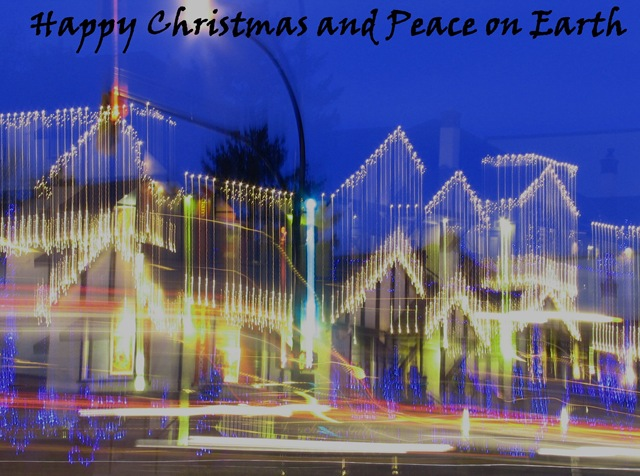 Happy Christmas and peace - from Bruce Witzel