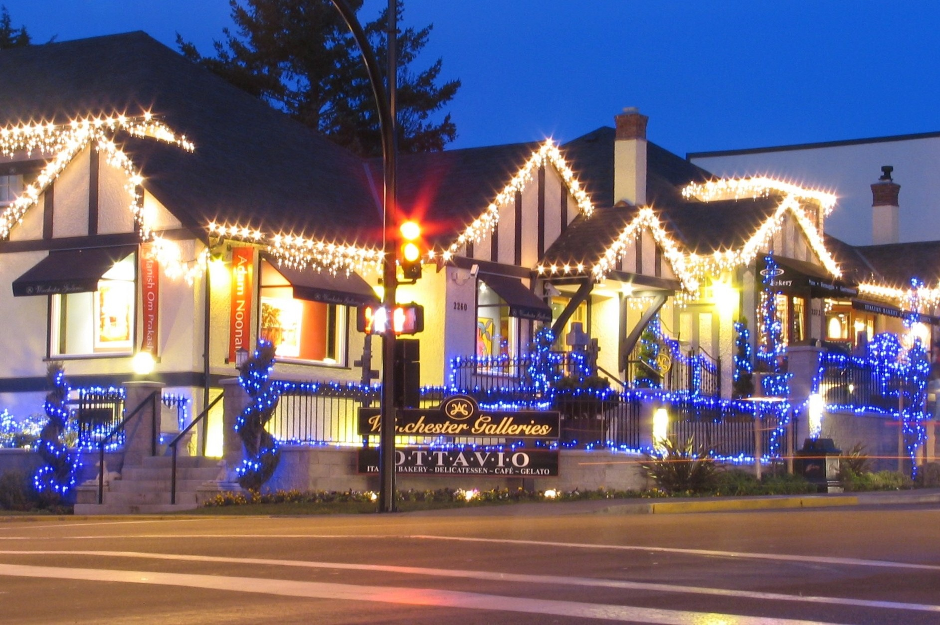 Oak Bay Village, B.C. - bruce witzel photo