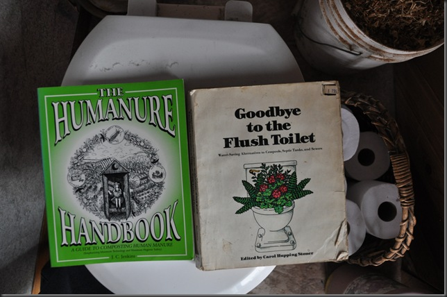 Our toa-throne compost toilet