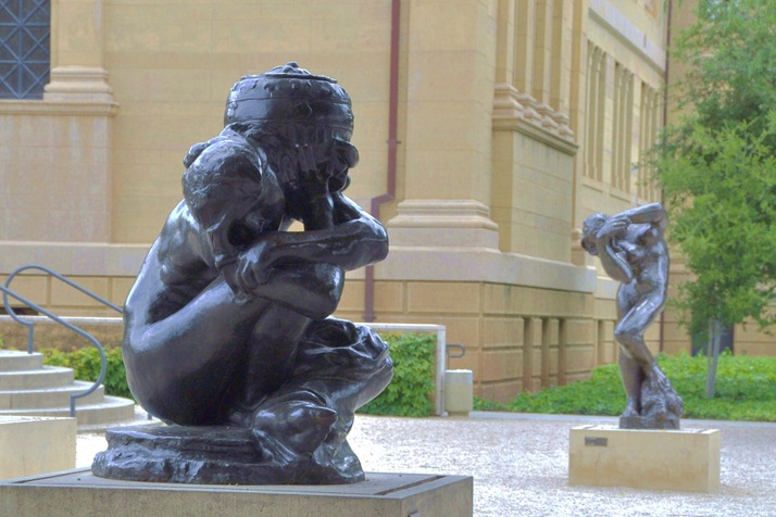 Rodin Sculpture Garden, University of Stanford - Bruce witzel photo