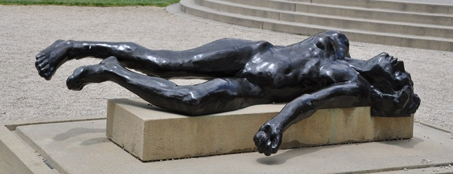 Rodin Sculpture Graden, Stanford University in California